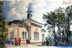 Крестовоздвиженская церковь в Ливадии