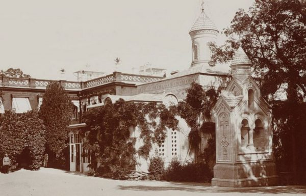 Крестовоздвиженская церковь в Ливадии,домовая церковь семьи Романовых в Ливадии,
