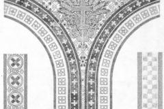 Настенная роспись над колоннами - Монигетти